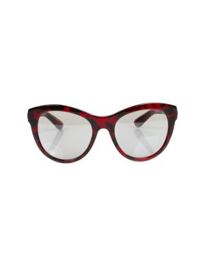 Red Black Plastic Sun Glasses by Dolce e Gabbana - Le Dressing Monaco