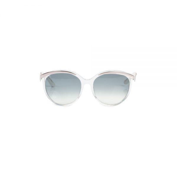 White Silver Sun Glasses by Christian Dior - Le Dressing Monaco
