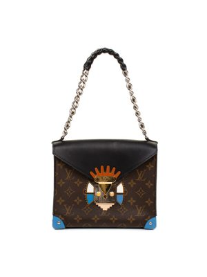 Brown Monogram Tribal Mask Bag by Louis Vuitton - Le Dressing Monaco