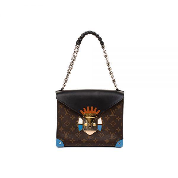 Black Monogram Canvas Tribal Mask Bag by Louis Vuitton - Le Dressing Monaco