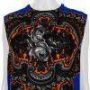 Blue Orange Zipp Printed Top by Stella Mc Cartney - Le Dressing Monaco