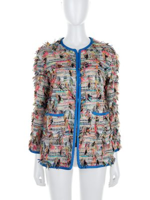 Multicolored Boucle Jacket by Chanel - Le Dressing Monaco
