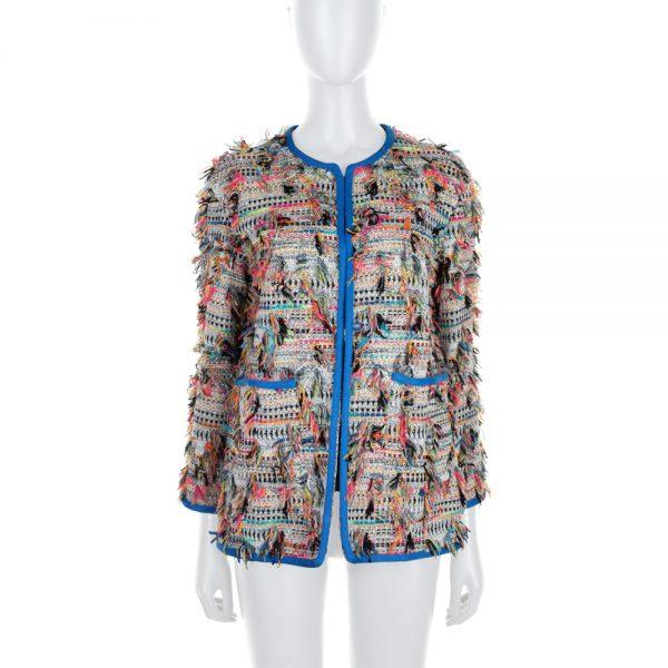 Multicolored Boucle Jacket by Chanel - Le Dressing Monaco