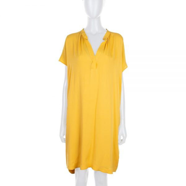 Yellow Silk Under Dress and Dress by Loro Piana - Le Dressing Monaco