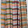 Multicolored Lurex Top Pleated Skirt Set by Chanel - Le Dressing Monaco