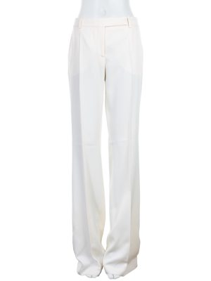 Off White Large Pants by Alexander McQueen - Le Dressing Monaco