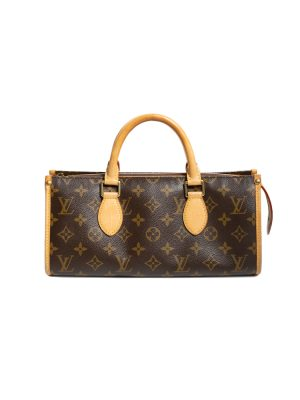 Brown Monogram Tricot Triangle Hand Bag by Louis Vuitton - Le Dressing Monaco