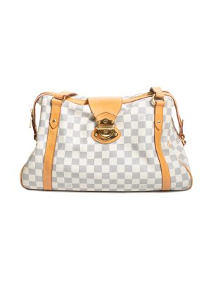 Ivory Damier Azur Canvas Stresa Bag by Louis Vuitton - Le Dressing Monaco