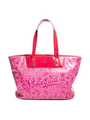 Pink Murakami Cosmic Blossom Leather Bag by Louis Vuitton - Le Dressing Monaco