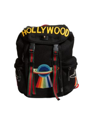 Black Hollywood Drawstring Backpack by Gucci - Le Dressing Monaco