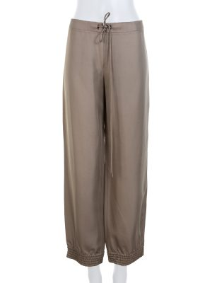 Green Tied Waist Pants by Valentino - Le Dressing Monaco