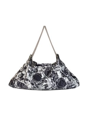 Satin Quilted Kaleidoscope Tote Hobo Bag by Chanel - Le Dressing Monaco