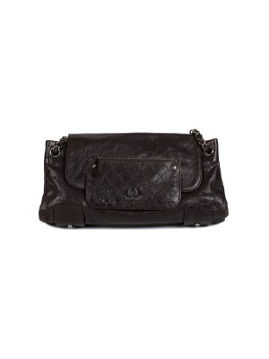 Glazed Caviar Pocket In The City Shoulder Bag by Chanel - Le Dressing Monaco