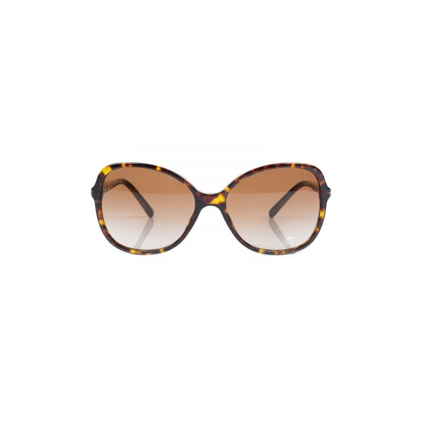 Classic Leopard Print Oval Sunglasses by Burberry - Le Dressing Monaco