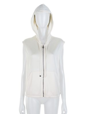 Terry Cloth Sleevless Zipped Hoodie by Hermès - Le Dressing Monaco