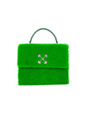 Green 2.8 Jitney Furry Hand Bag Virgil Abloh by Off-White - Le Dressing Monaco