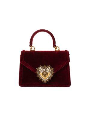Velvet Devotion Jewel Heart Bag by Dolce e Gabbana - Le Dressing Monaco