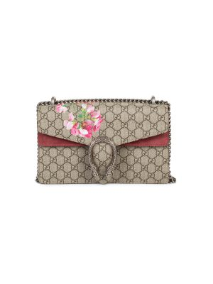 Rose Antique Dionysus GG Blooms Shoulder Bag by Gucci - Le Dressing Monaco
