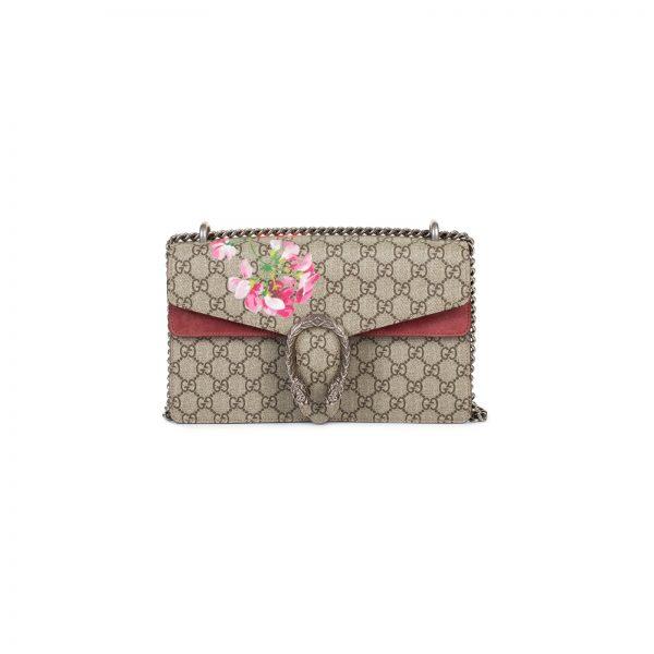 Rose Antique Dionysus GG Blooms Shoulder Bag by Gucci - Le Dressing Monaco