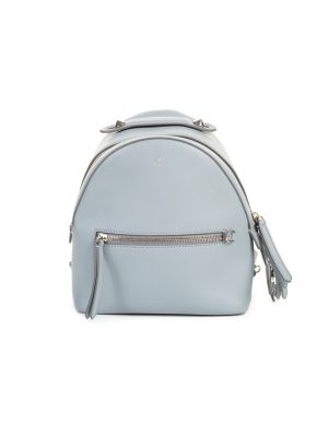 By The Way Light Blue Mini Flowerland Backpack by Fendi - Le Dressing Monaco
