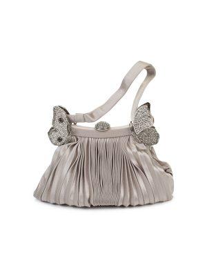 Silk Crystal Butterfly Evening Bag by Valentino Garavani - Le Dressing Monaco