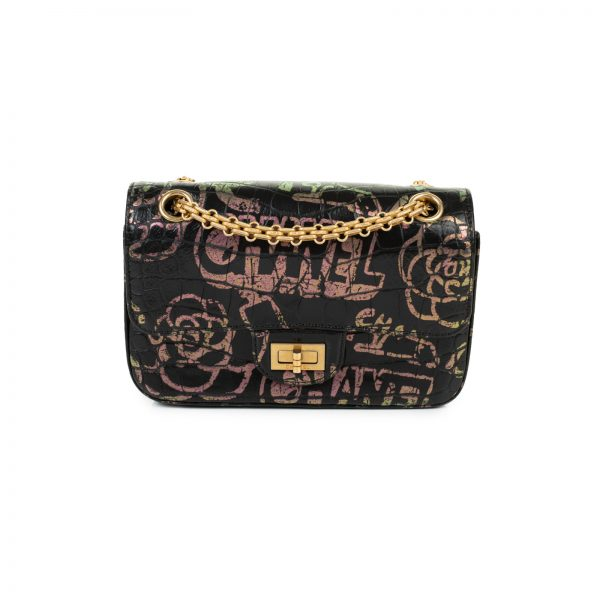 Reissue 2.55 Graffiti Unicorn Cross Body Bag by Chanel - Le Dressing Monaco