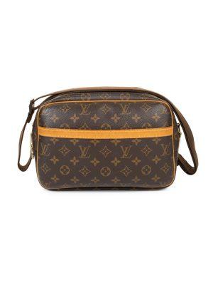 Monogram Leather Reporter Bag by Louis Vuitton - Le Dressing Monaco