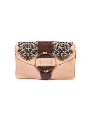 Pink Bead Embellished Bag by Valentino Garavani - Le Dressing Monaco