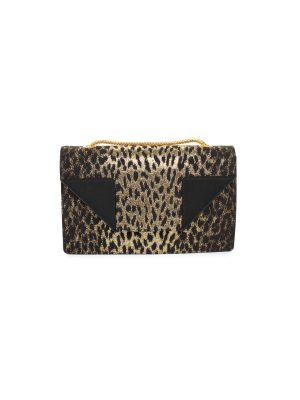 Jacquard Leopard Print Small Betty Bag by Saint Laurent - Le Dressing Monaco