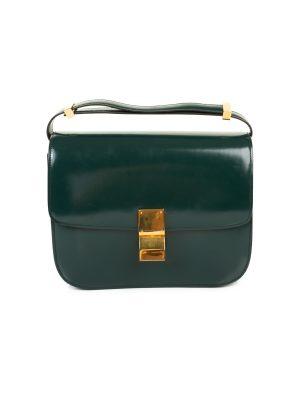 Classic Box Calfskin Leather Flap Bag by Celine - Le Dressing Monaco