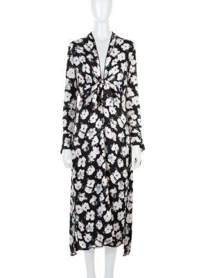 Printed Silk Georgette Midi Floral Dress by Proenza Schouler - Le Dressing Monaco