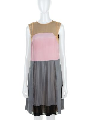 Multicolored Stripe Mousseline Dress by Prada - Le Dressing Monaco