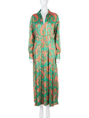 Paisley Printed Maxi Dress by Philosophy - Le Dressing Monaco