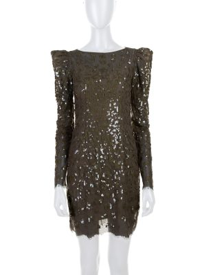 All Over Sequins Embellished Dress by Zuhair Murad - Le Dressing Monaco