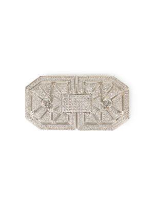 Crystal Embellished Brooch by Valentino Garavani - Le Dressing Monaco