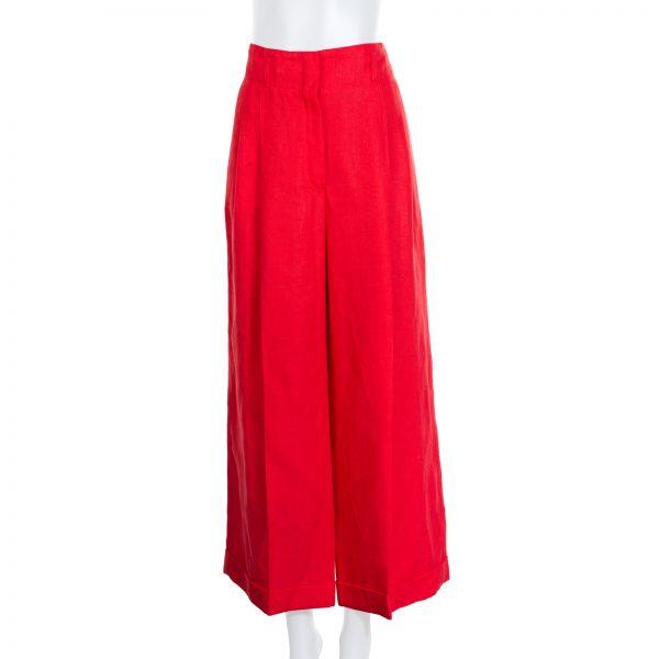 Linen Wide-Leg Pants by Loro Piana - Le Dressing Monaco