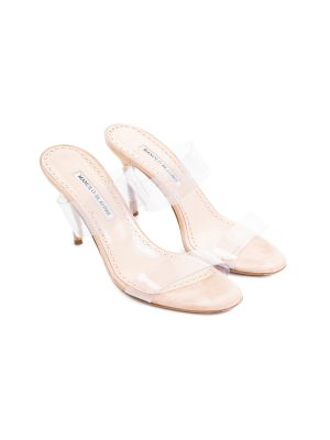 Pvc Rscolto Strapped Sandals by Manolo Blahnic - Le Dressing Monaco