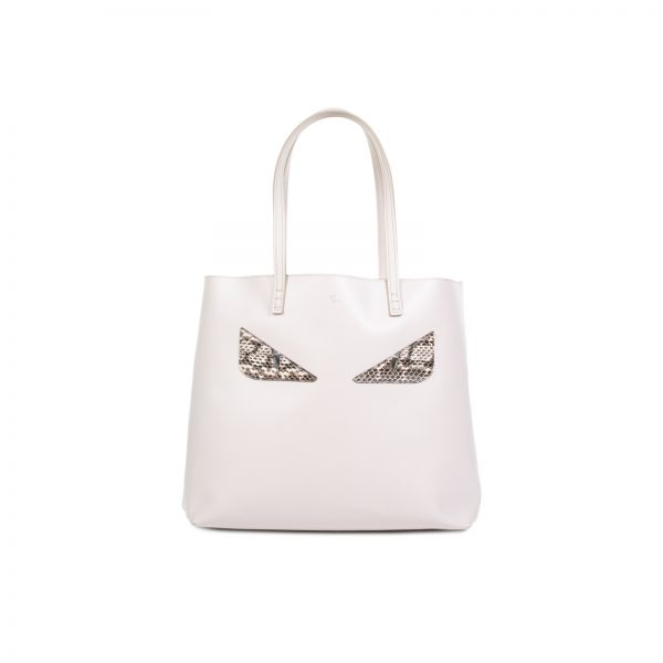 Calfskin Snakeskin Monster Roll Tote by Fendi - Le Dressing Monaco