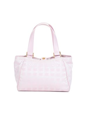 Travel Line Jacquard Nylon Tote Bag by Chanel - Le Dressing Monaco