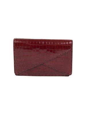 Crisscross Croco Leather Clutch by Bottega Veneta - Le Dressing Monaco
