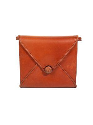 Envelope Shaped Leather Handbag by Hermes - Le Dressing Monaco