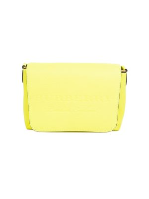 Fluorescent Leather Messenger Bag by Burberry - Le Dressing Monaco