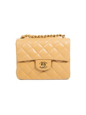 Mini Classic Timeless Flap Bag by Chanel - Le Dressing Monaco