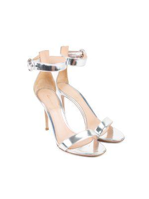 Portofino 105 Metallic Sandals by Gianvito Rossi - Le Dressing Monaco