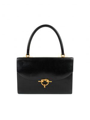 Cordeliere Leather Handbag by Hermes - Le Dressing Monaco