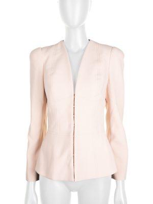 Light Pink Zipped Jacket by Alexander McQueen - Le Dressing Monaco