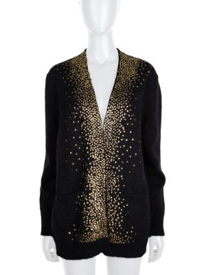 Mohair Wool Blended Cardigan by Saint Laurent - Le Dressing Monaco