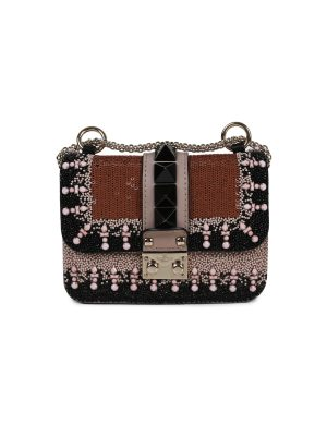 Sequin embellished Lock Bag by Valentino Garavani - Le Dressing Monaco